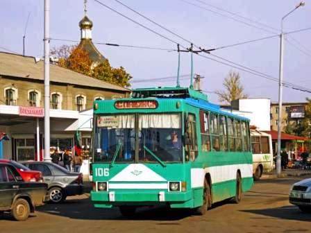 Троллейбус ЛАЗ E183A1 № 205 на
